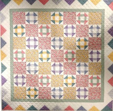 Cozy churn dash alternate churn dash quilt vintage quilts 10 Beautiful Vintage Churn Dash Quilt Pattern Inspirations