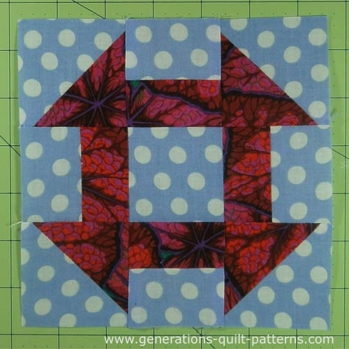 Cozy churn dash quilt block tutorial 3 4 12 6 7 12 and 10 Cozy Churn Dash Quilt Block Pattern Inspirations