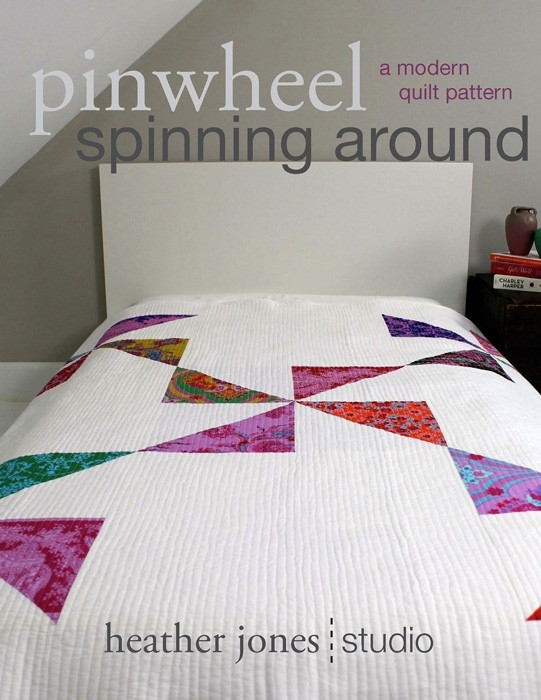 Cozy digital pinwheel spinning around quilt sewing pattern 10 Unique Sewing Patterns For Quilts Inspirations