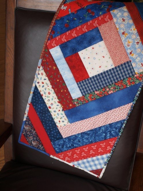 Cozy easy quilted table runner pattern a step step guide Cool Simple Quilted Table Runner Patterns