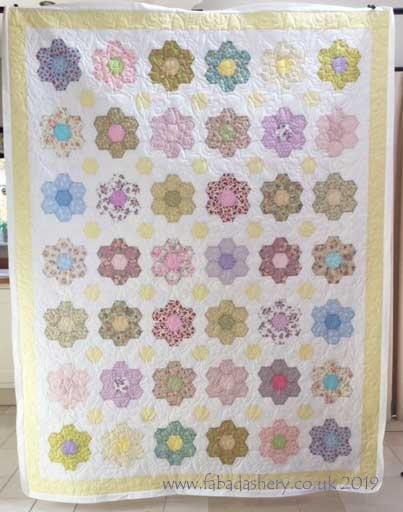 Cozy fabadashery longarm quilting grandmothers flower garden 11 Elegant Grandmothers Flower Garden Quilt Pattern Gallery