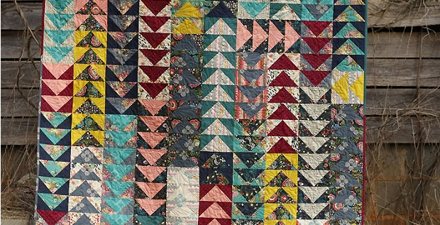 Cozy fabric bliss flying geese quilt quilting cub Beautiful Flying Geese Quilting Pattern Gallery