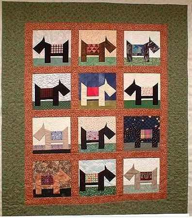 Cozy free scottie dog quilt block pattern 9 Beautiful Scottie Dog Quilt Pattern Gallery