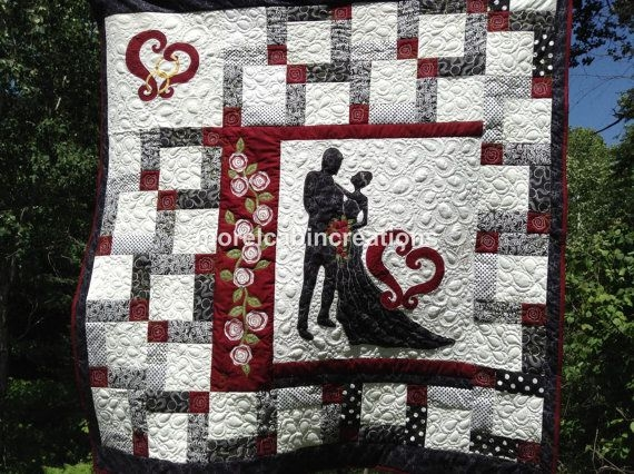 Cozy from this momenta wedding quilt pattern morelcabin 11   Wedding Quilt Patterns