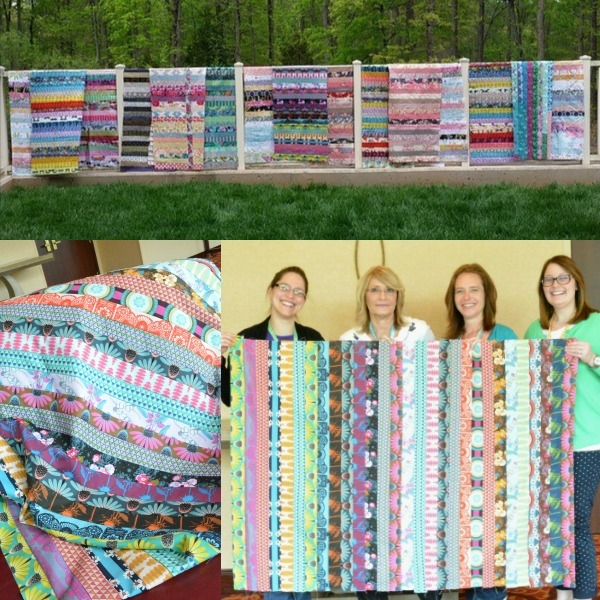 Cozy jelly roll quilt ideas the sewing loft 11 New Jelly Roll Quilt Ideas Inspirations