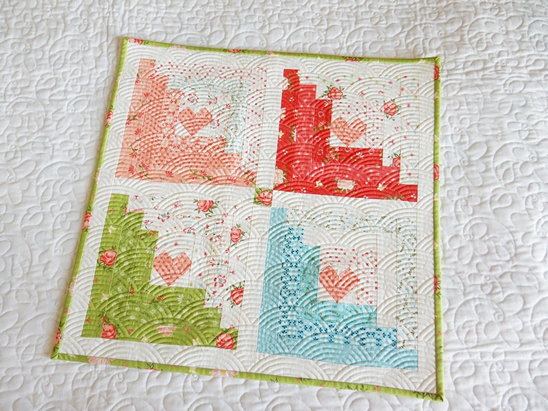 Cozy log cabin quilt block easy tutorials a quilting life 9   Easy Log Cabin Quilt Pattern