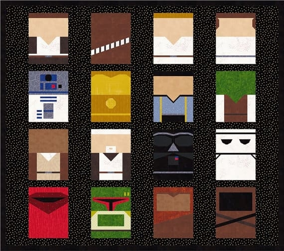 Cozy may the force be with you with star wars quilt patterns 9   Unique Star Wars Quilting Fabric Inspiration Gallery