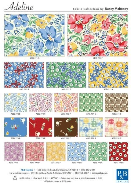 Cozy nancy mahoney 30s fabrics patchwork fabric vintage fabric 11 Interesting Vintage Quilt Fabric Gallery
