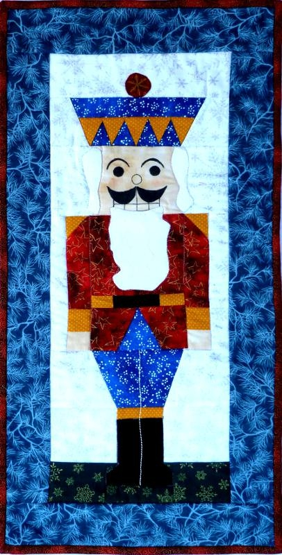 Cozy nutcracker banner 10 Interesting Nutcracker Quilt Pattern Inspirations