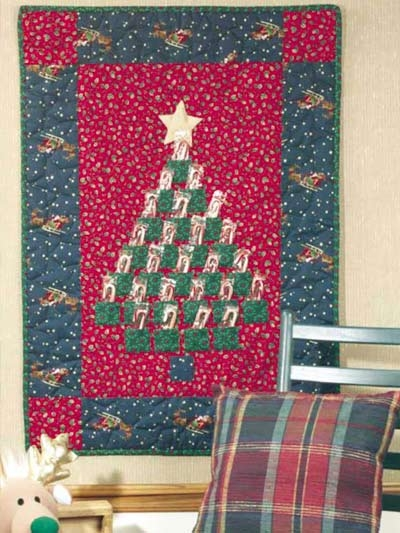 Cozy quilted advent calendar quilting free patterns 9 Cool Quilted Advent Calendar Pattern Inspirations
