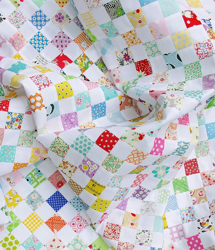Cozy red pepper quilts a checkerboard quilt and a strip piecing 9   Checkerboard Quilt Pattern Gallery