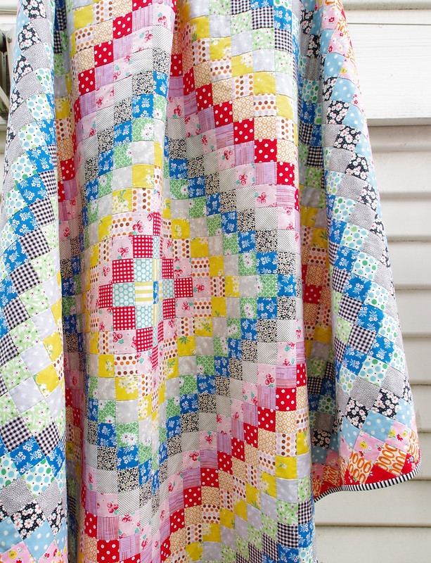 Cozy red pepper quilts a hand pieced trip around the world quilt New Hand Pieced Quilt Patterns