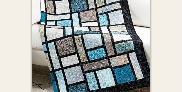 Cozy show off beautiful fabric in this super easy quilt 11 Elegant Super Easy Quilt Patterns