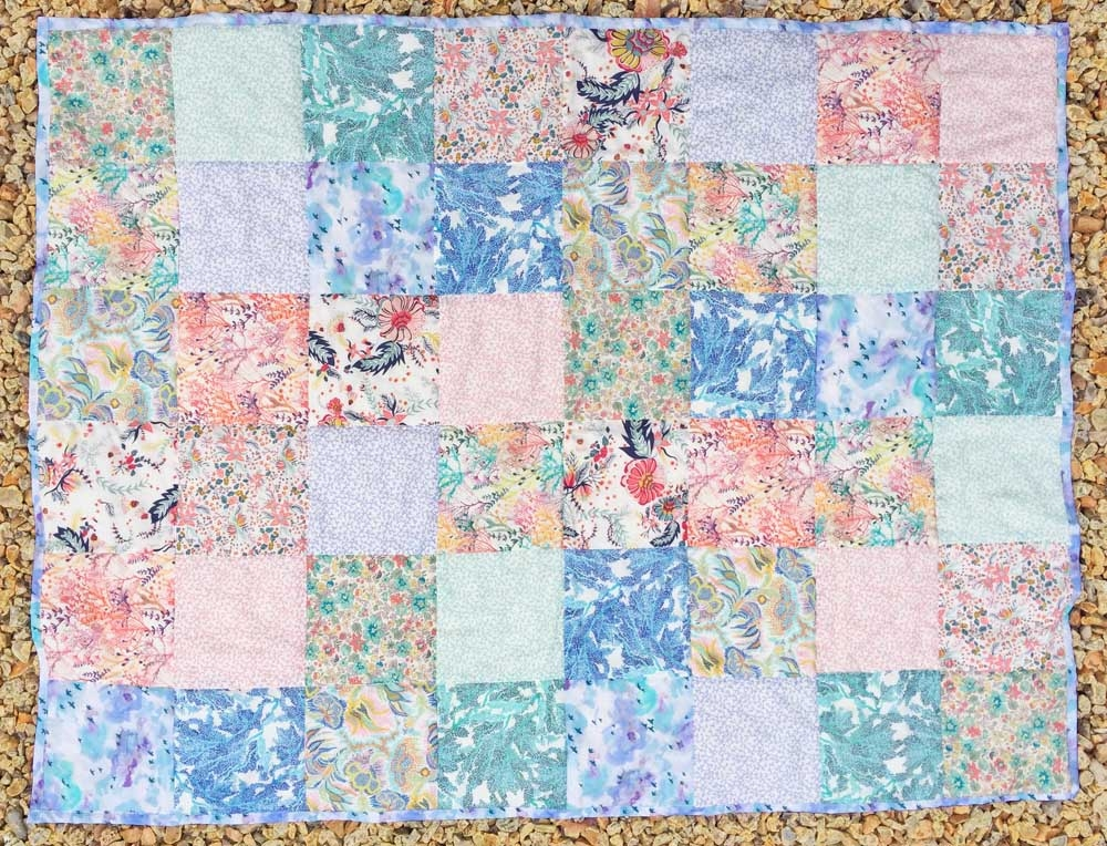 Cozy ss17 lovely liberty cot quilt alice caroline liberty 11 Cozy Beautiful Pre Quilted Baby Fabric Inspiration Gallery