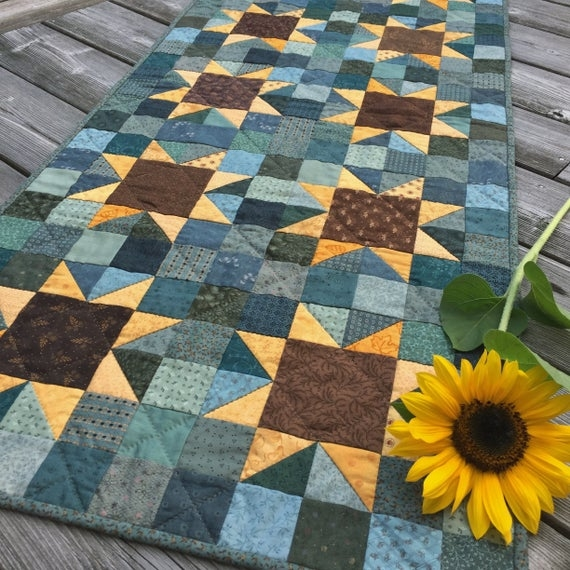 Cozy sunflowers quilt pattern pdf jen daly quilts instant download 10 Interesting Sunflower Quilt Pattern For Beginners Gallery