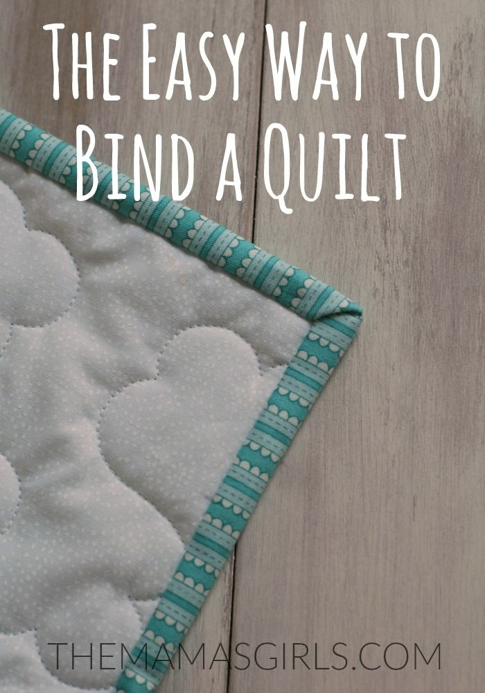 Cozy the easy way to bind a quilt tutorial quilt binding 9 Stylish Sewing Binding On Quilt