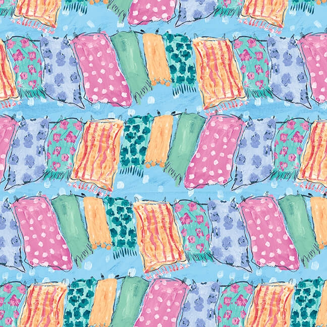 Cozy udder chaos fabric collection quilt fabric from blank quilting 11 New Blank Quilting Fabric Inspirations