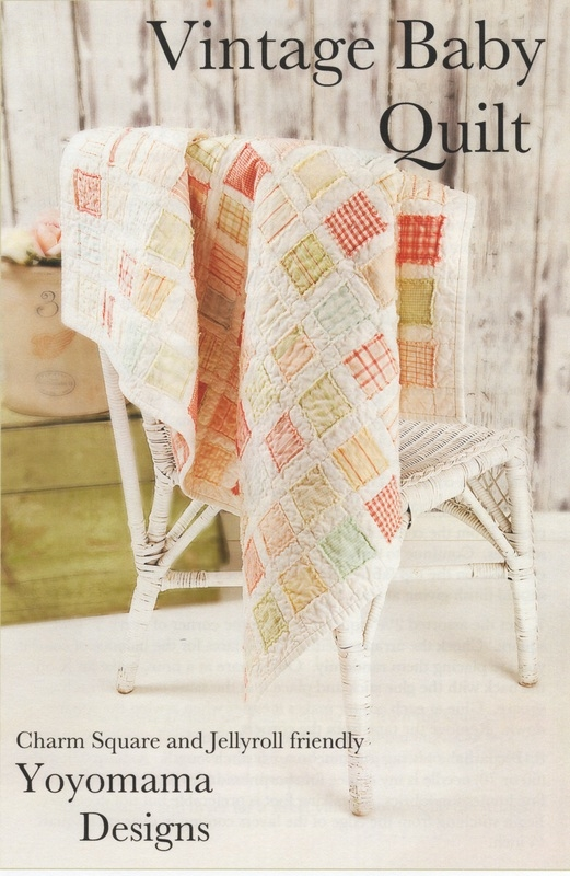 Cozy vintage ba quilt pattern 9 Stylish Vintage Baby Quilt Inspirations