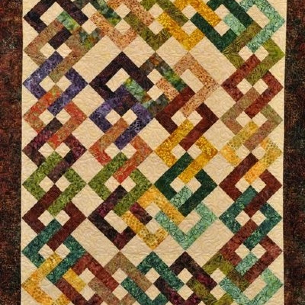 Cozy waste knot quilt pattern found on webstorequiltropolis Unique Waste Knot Quilt Pattern Gallery