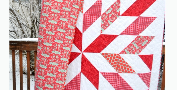 Cozy your next star quilt using simple half square triangles 9 Unique Easy Half Square Triangle Quilt Patterns Inspirations