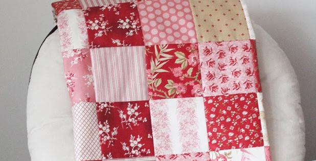 Elegant a beginners patchwork quilt tutorial quilting cub 9   Easy Patchwork Quilt Pattern Gallery