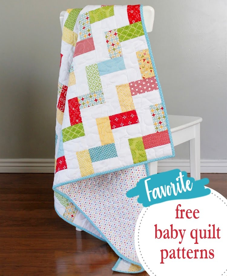 Elegant a bright corner 15 favorite free ba quilt patterns Stylish Patchwork Baby Quilt Patterns Free
