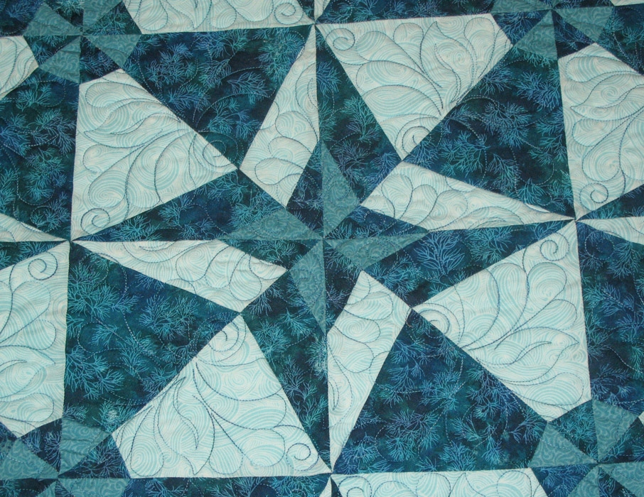 Elegant a quilt from terry hansons studio eleanor burn day and 10 Elegant Day And Night Quilt Pattern