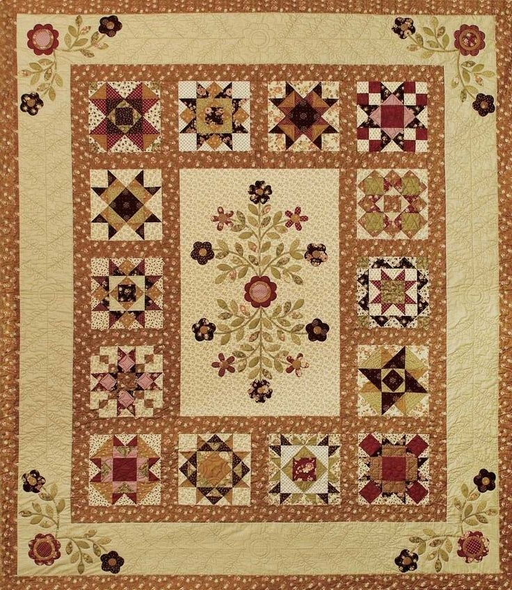 Elegant bits n pieces quilt shop stars around the garden this is 9 Modern Bits And Pieces Quilt Pattern Gallery