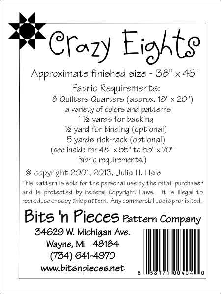 Elegant crazy eights 11 Unique Crazy Eight Quilt Pattern Gallery