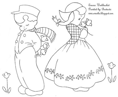 Elegant dutch boy and girl girl quilts patterns boys quilt 11 Beautiful Duch Doy Or Girl Quilt Pattern