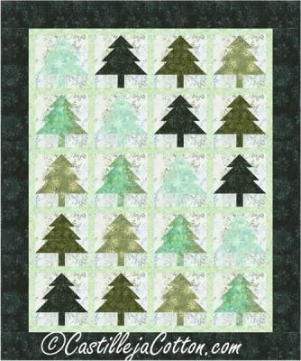 Elegant easy to make pieced trees fabric line shown timeless 10 Cool Pieced Tree Quilt Patterns Inspirations