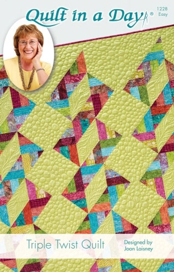 Elegant eleanor burns signature quilt pattern triple twist quilt 11 Modern Eleanor Burns Quilt Patterns
