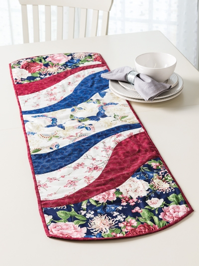 Elegant ez breezy quilt as you go table runner pattern 10 Stylish Quilting Patterns For Table Runners