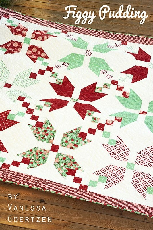 Elegant figgy pudding quilt christmas quilts quilts figgy pudding 11 Cozy Figgy Pudding Quilt Pattern Inspirations
