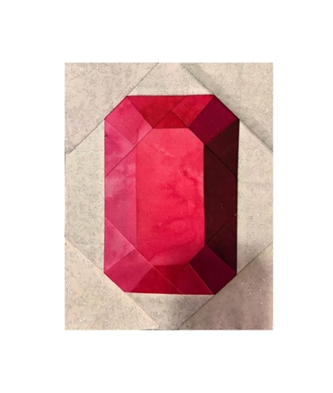 Elegant gemstone quilt block crankykangaroo craftsy paper 10 Interesting Gemstomes Quilt Pattern Free
