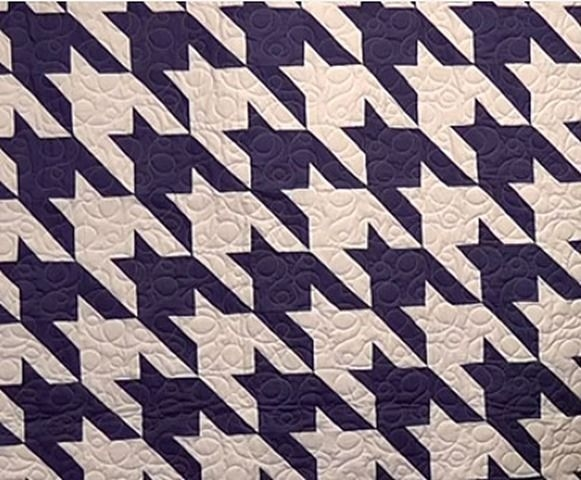 Permalink to Modern Houndstooth Quilt Pattern Inspirations