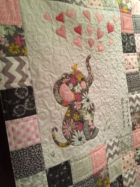 Elegant image result for elephant ba quilt patterns free printable 10 Stylish Patchwork Cot Quilt Patterns Free Gallery