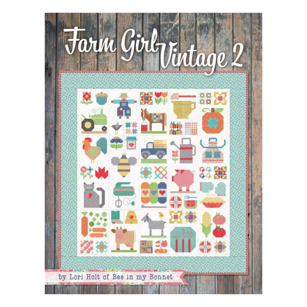 Elegant its sew emma farm girl vintage 2 book lori holt of bee in 11 Cozy Farm Girl Vintage Quilt Book Inspirations