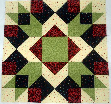 Elegant large quilt block patterns 11 Unique Block In A Block Quilt Pattern