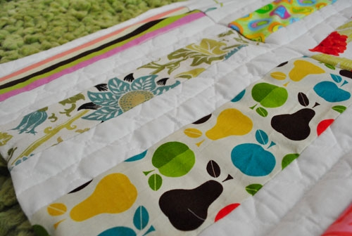 Elegant making an easy handmade ba quilt young house love 11 Cozy Beautiful Pre Quilted Baby Fabric Inspiration Gallery