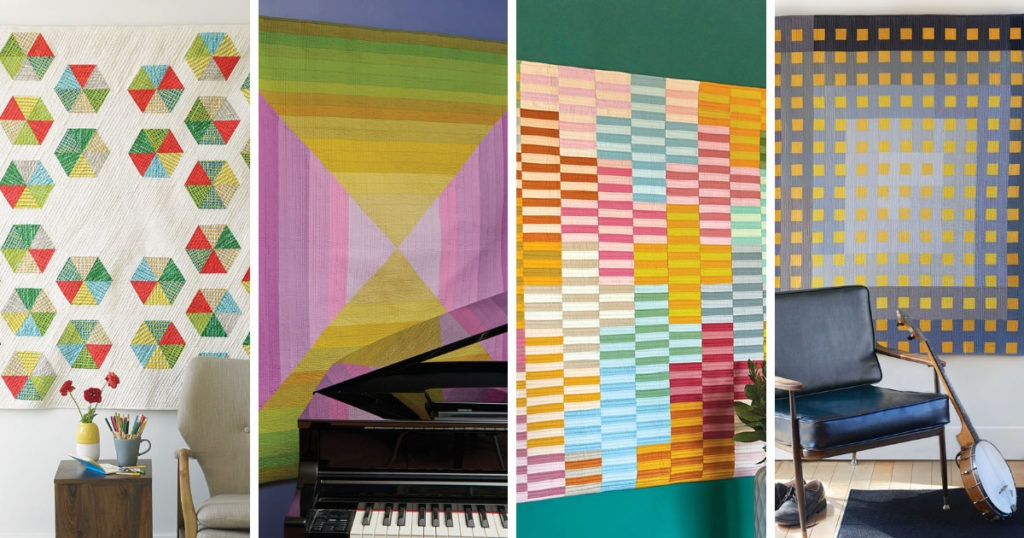 Elegant malka dubrawsky a designer of modern quilts quilting daily 9 Beautiful Modern Quilt Designs Patterns
