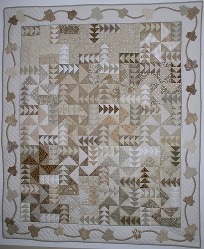Elegant monochromatic quilt patterns quiltingboard forums New Monochromatic Quilt Patterns Inspirations