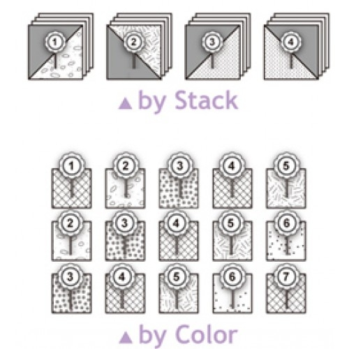 Elegant numbered quilting pins 10 Beautiful Numbered Pins For Quilting And Sewing Inspirations