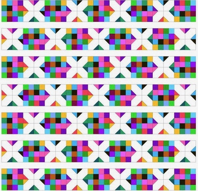 Elegant perfectly scrappy 16 patch quilt pattern 11 Cozy 16 Patch Quilt Block Patterns Inspirations