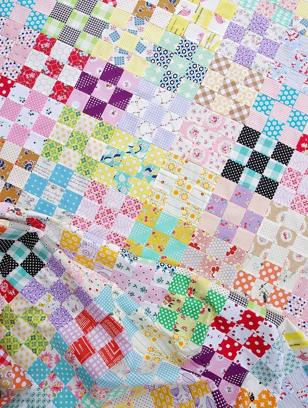 Elegant pin on scrap happy 9   Checkerboard Quilt Pattern Gallery