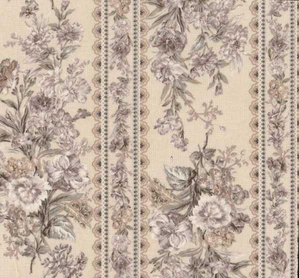 Elegant quilt gate gentle flowers sand rose textile world vintage 10   Quilt Gate Gentle Flowers Fabric Inspirations