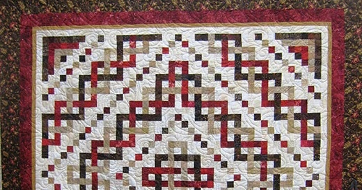 Elegant quilting land trinity celtic knot quilt 9 Modern Celtic Quilting Patterns