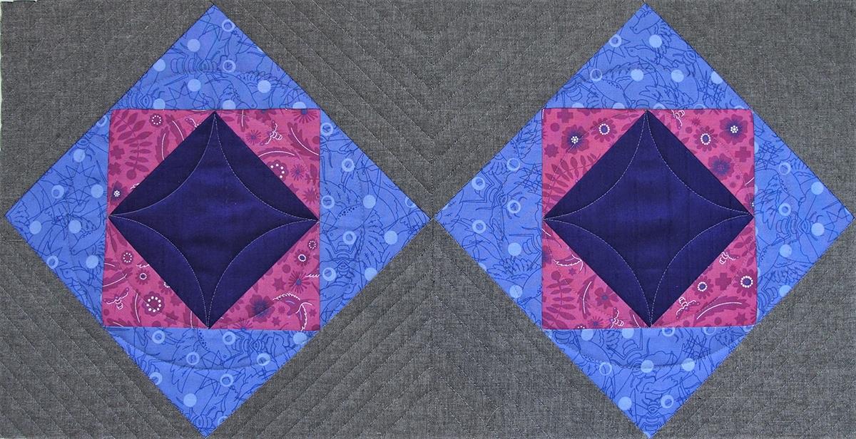 Elegant square in a square block weallsew 11 Stylish Square In A Square Quilt Block Pattern Gallery