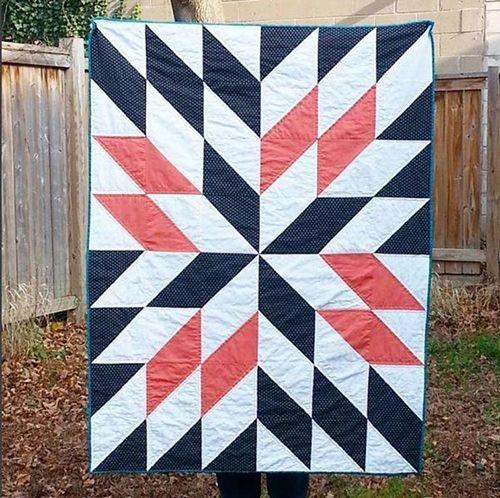 Elegant star gazing quilt beginner quilt patterns quilt patterns 10 New Most Common Quilt Patterns Inspirations