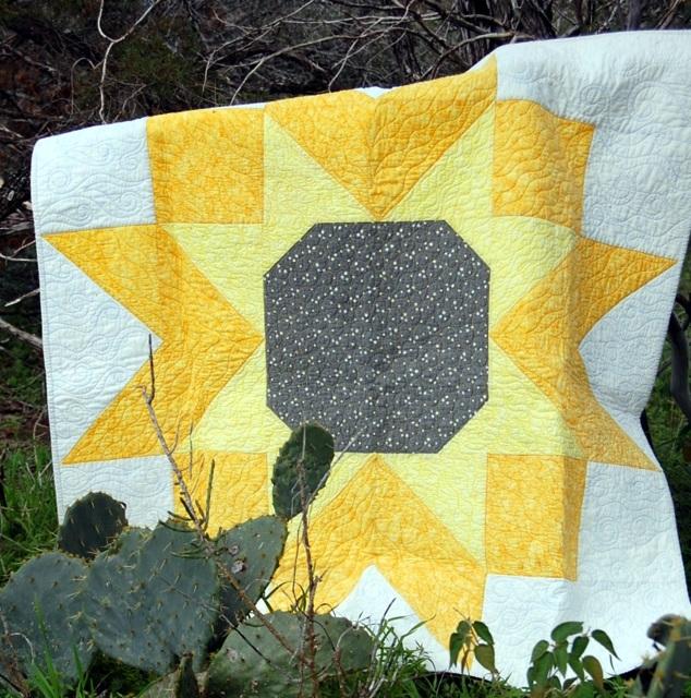 Elegant sunflower quilt 10 Interesting Sunflower Quilt Pattern For Beginners Gallery
